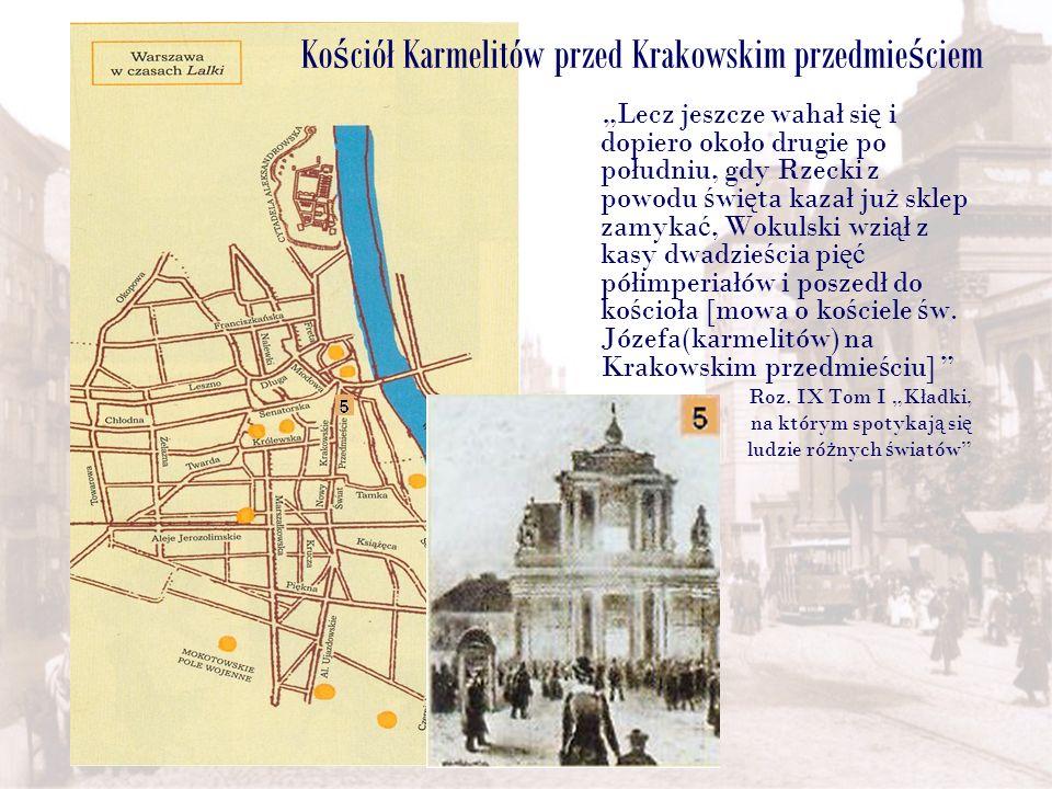 Kościół Karmelitów przed Krakowskim przedmieściem