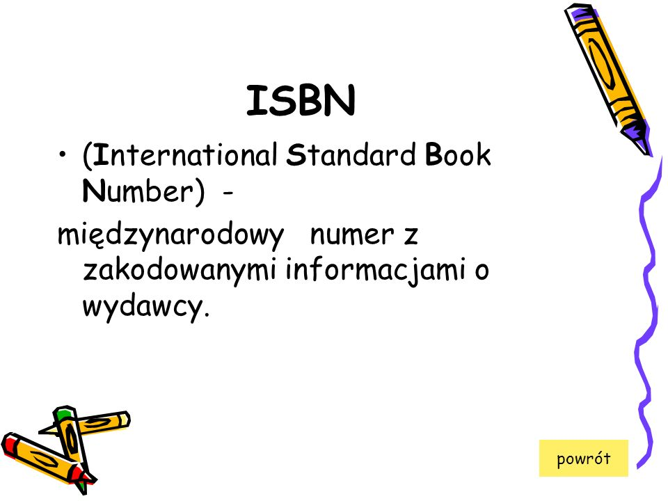 ISBN (International Standard Book Number) -