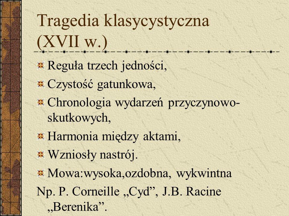 Tragedia klasycystyczna (XVII w.)