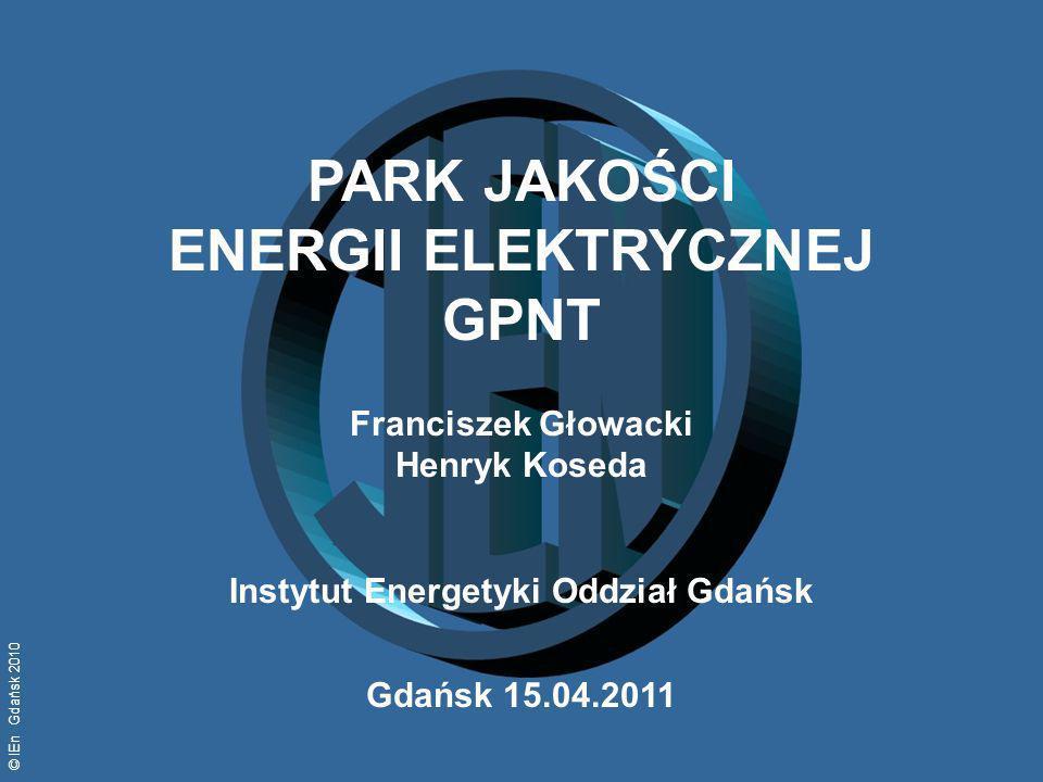 PARK JAKOŚCI ENERGII ELEKTRYCZNEJ GPNT