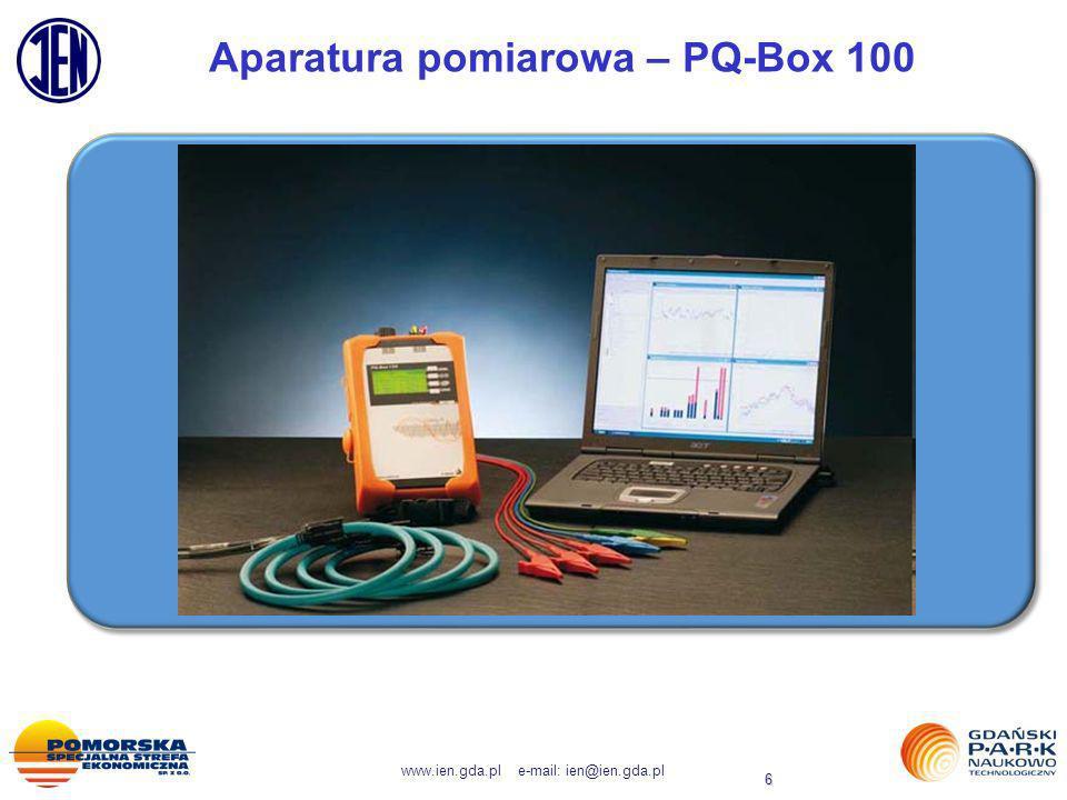 Aparatura pomiarowa – PQ-Box 100