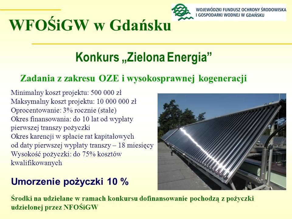 """Konkurs """"Zielona Energia"""