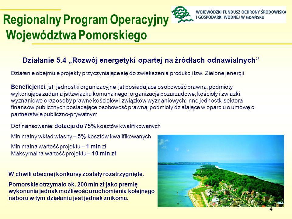 Regionalny Program Operacyjny Województwa Pomorskiego