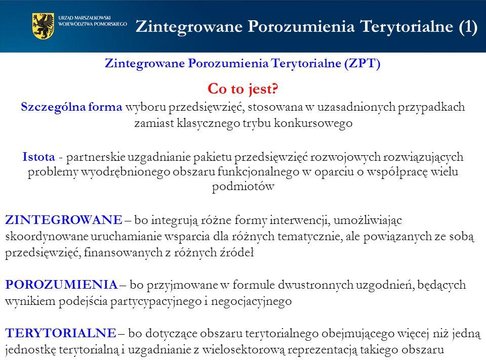 Zintegrowane Porozumienia Terytorialne (1)