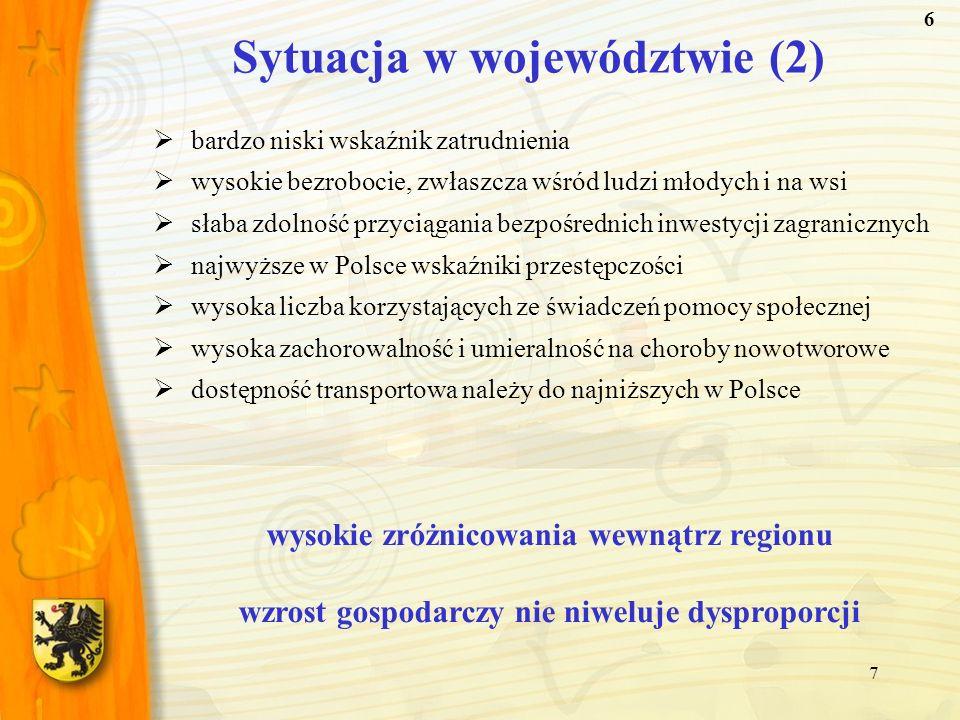 Sytuacja w województwie (2)