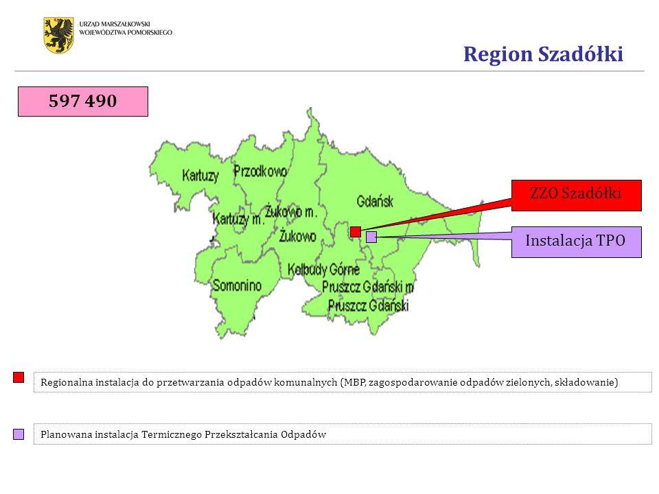 Region Szadółki 597 490 ZZO Szadółki Instalacja TPO