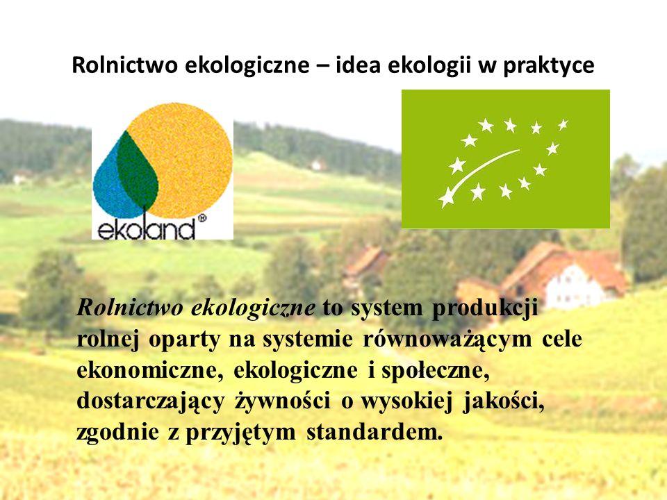 Rolnictwo ekologiczne – idea ekologii w praktyce