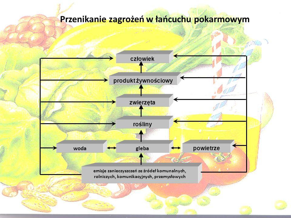 Przenikanie zagrożeń w łańcuchu pokarmowym