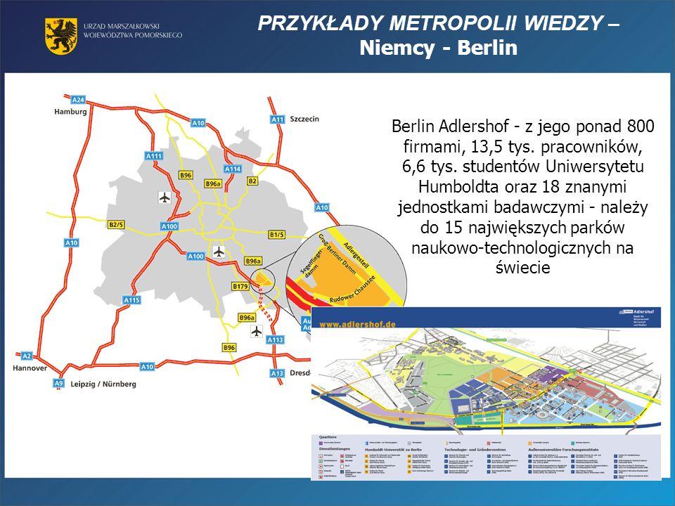 PRZYKŁADY METROPOLII WIEDZY – Niemcy - Berlin