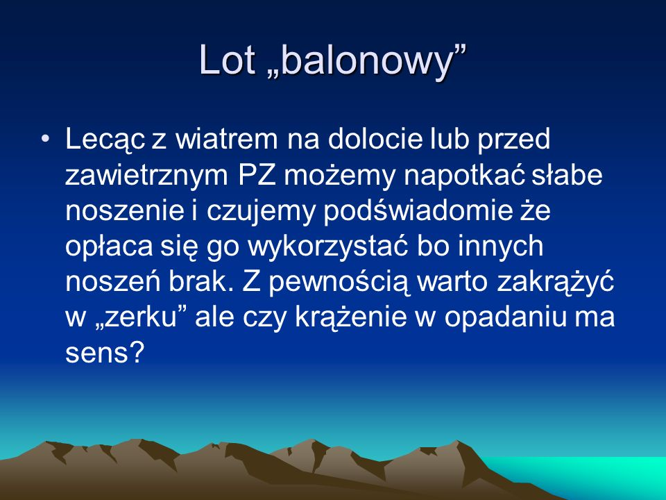 "Lot ""balonowy"