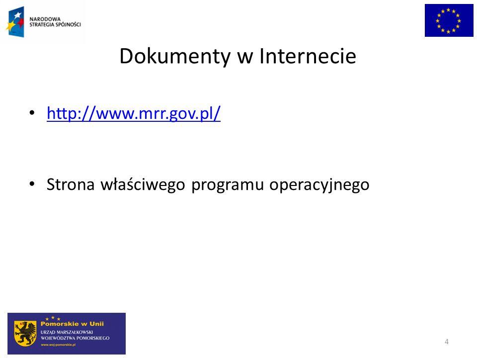 Dokumenty w Internecie