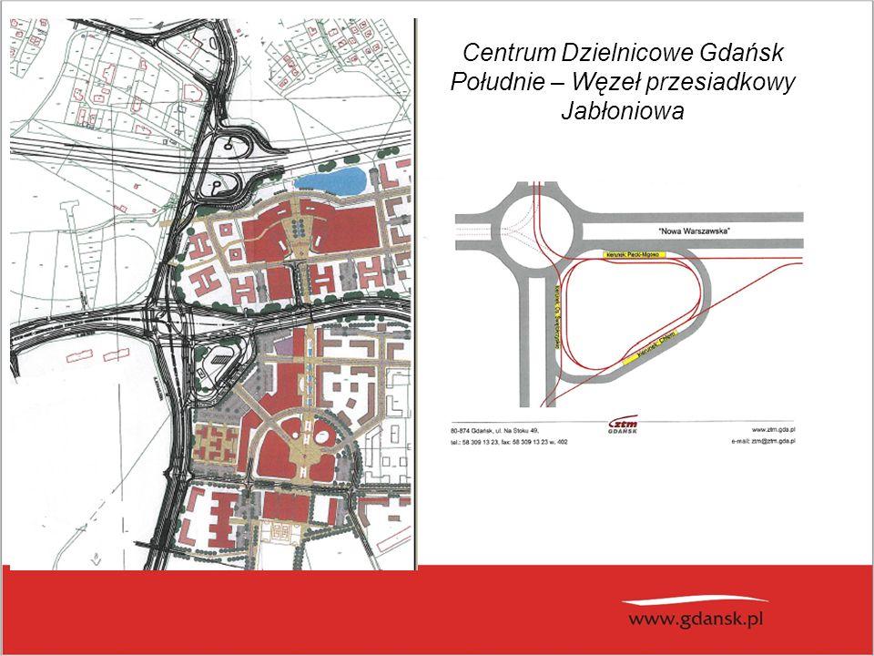 Centrum Dzielnicowe Gdańsk Południe – Węzeł przesiadkowy Jabłoniowa