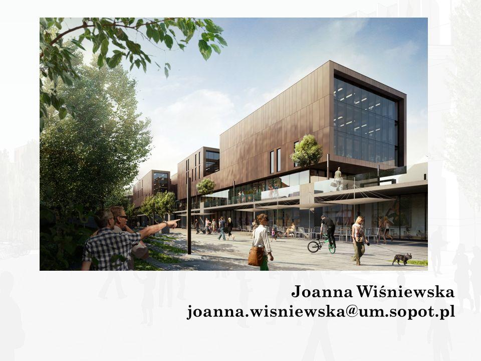Dziękuję za uwagę Joanna Wiśniewska joanna.wisniewska@um.sopot.pl