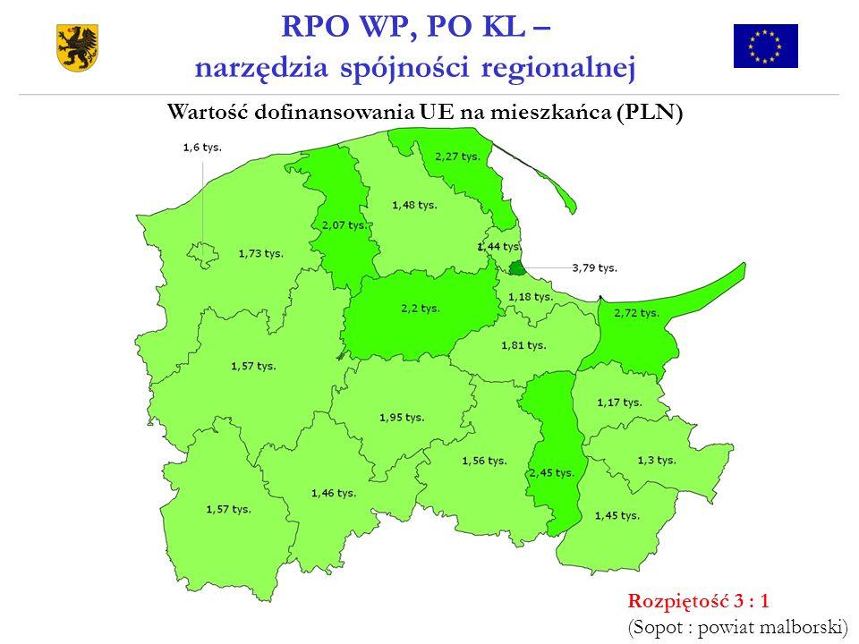RPO WP, PO KL – narzędzia spójności regionalnej
