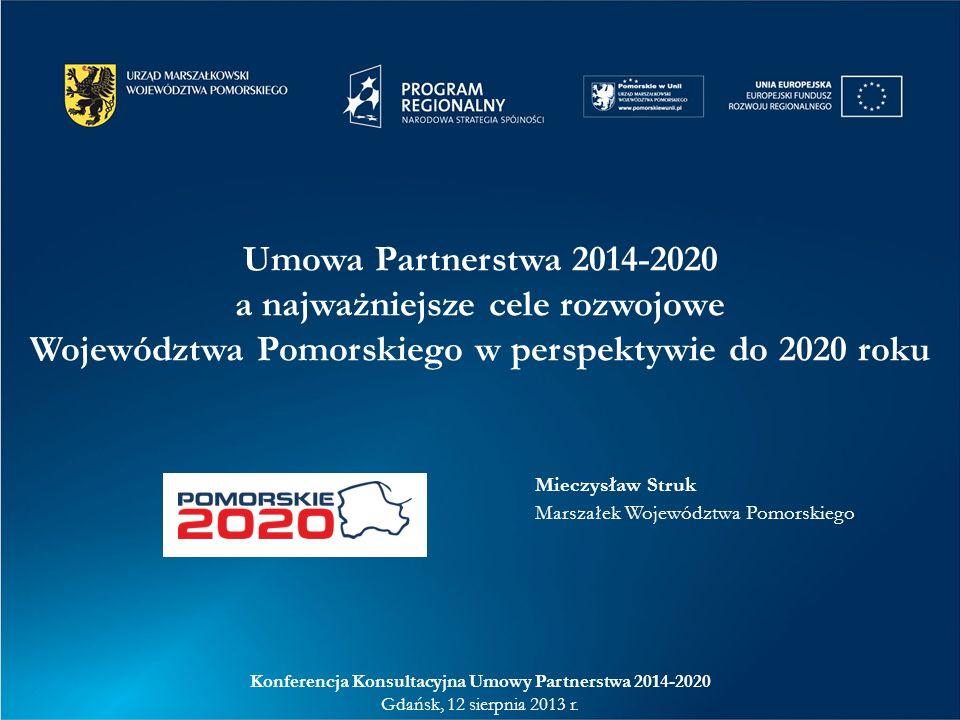 Konferencja Konsultacyjna Umowy Partnerstwa 2014-2020