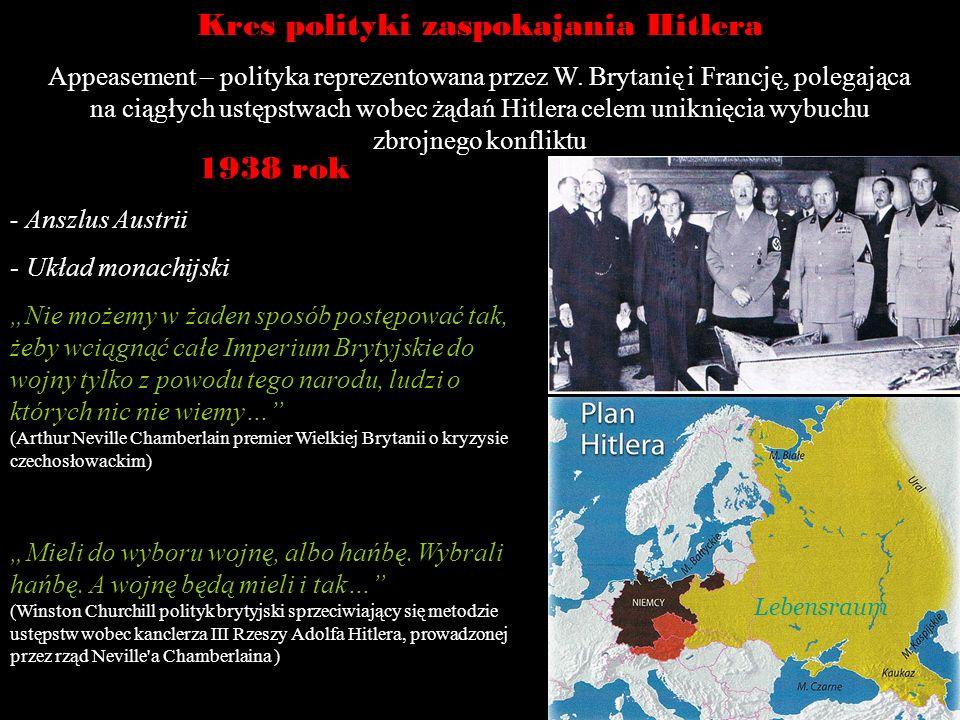 Kres polityki zaspokajania Hitlera