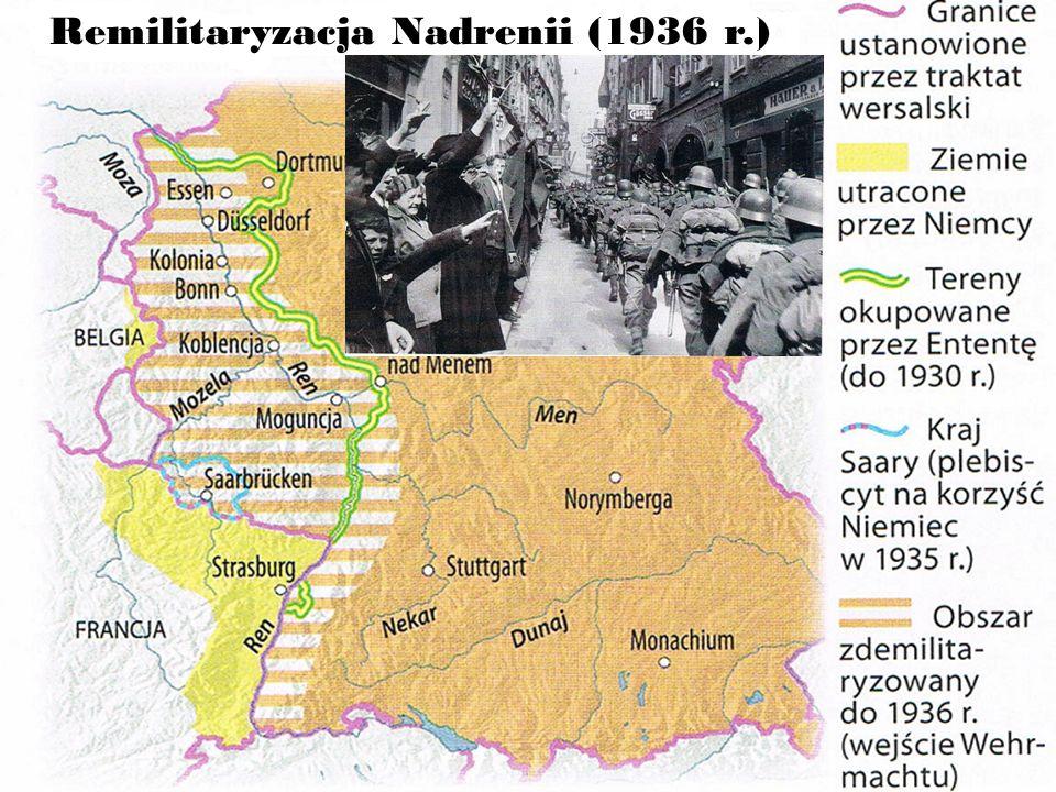 Remilitaryzacja Nadrenii (1936 r.)