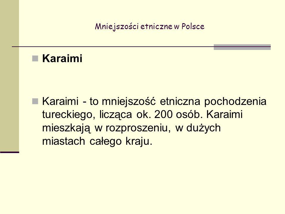 Mniejszości etniczne w Polsce