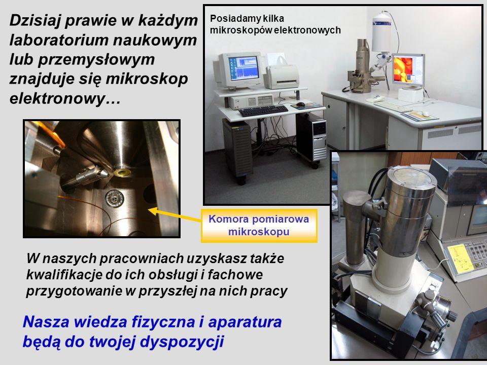 Komora pomiarowa mikroskopu