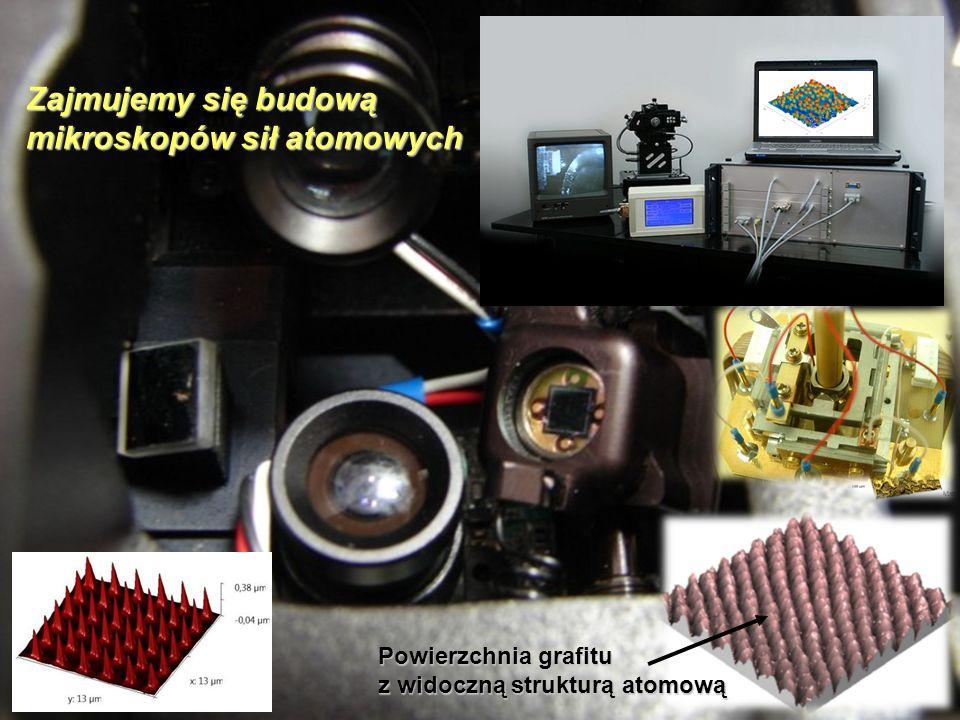 Zajmujemy się budową mikroskopów sił atomowych