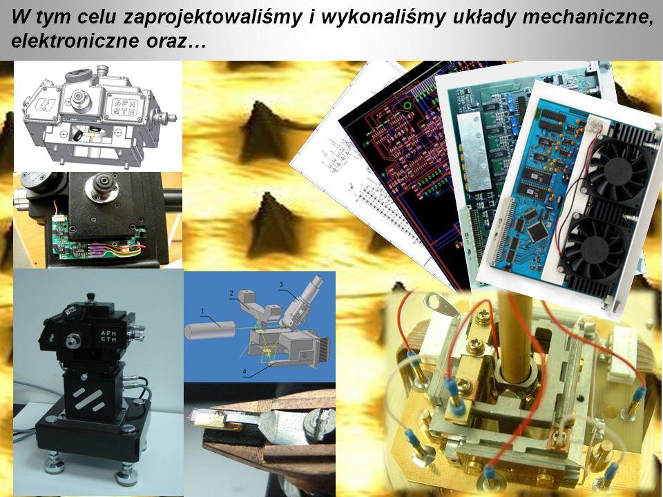 W tym celu zaprojektowaliśmy i wykonaliśmy układy mechaniczne, elektroniczne oraz…
