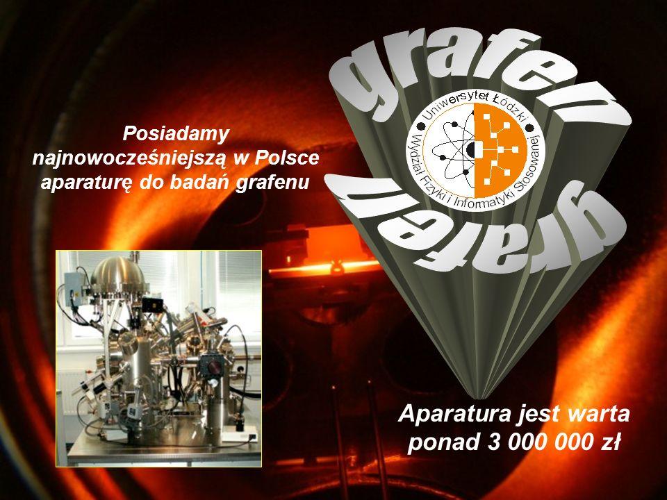 grafen grafen Aparatura jest warta ponad 3 000 000 zł