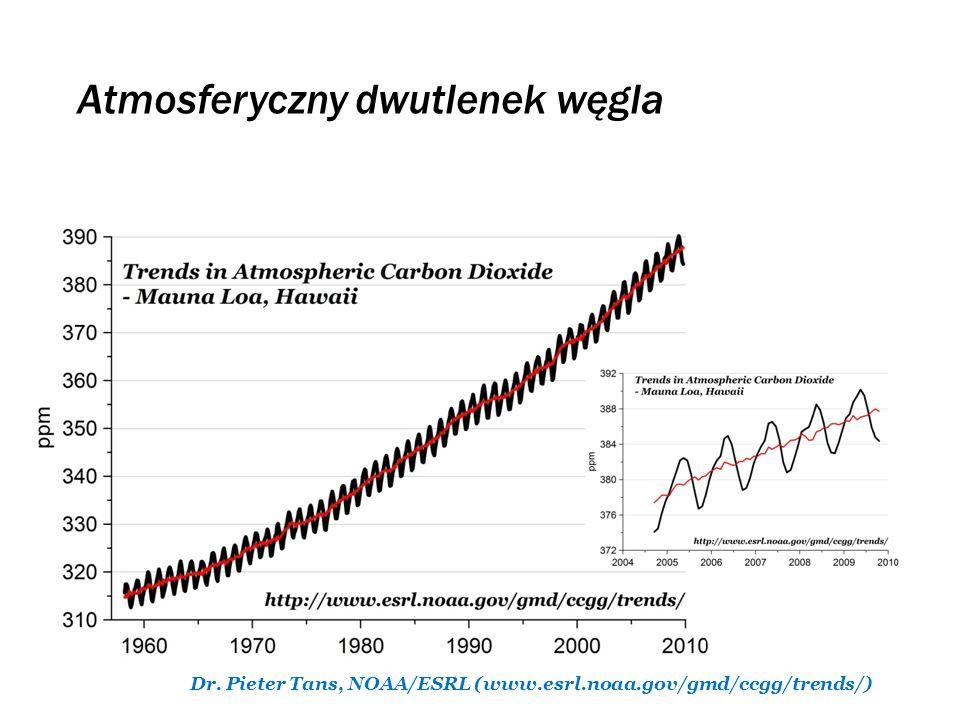 Atmosferyczny dwutlenek węgla
