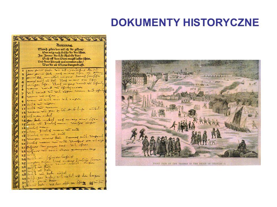 DOKUMENTY HISTORYCZNE