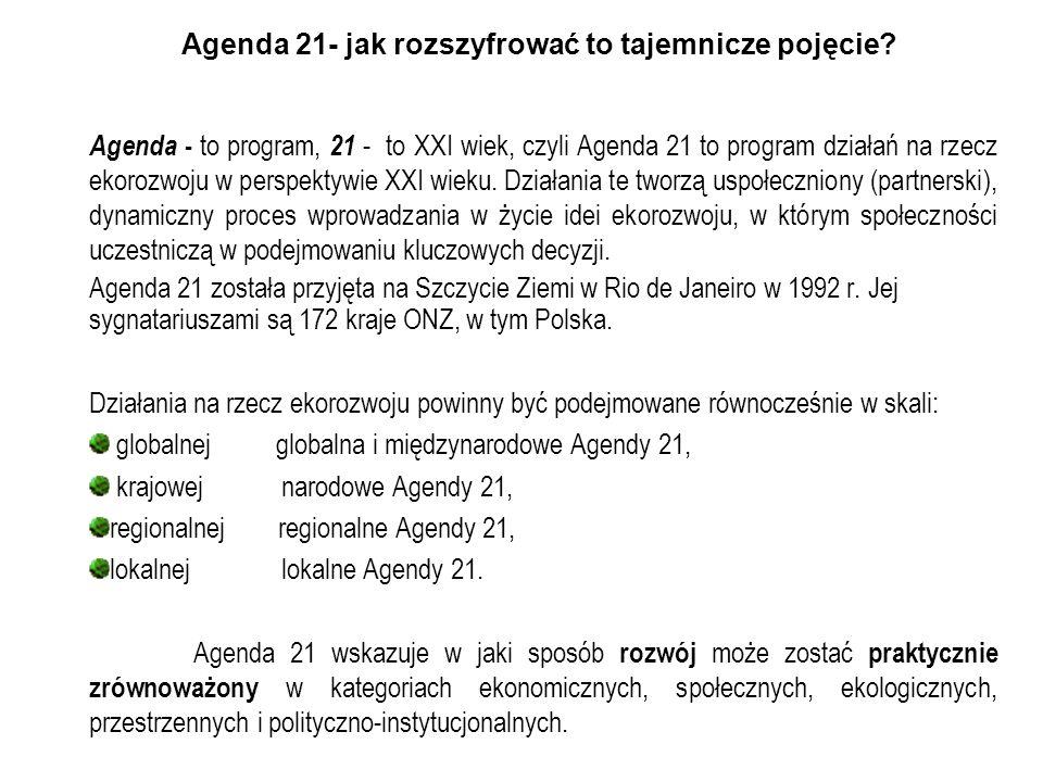 Agenda 21- jak rozszyfrować to tajemnicze pojęcie
