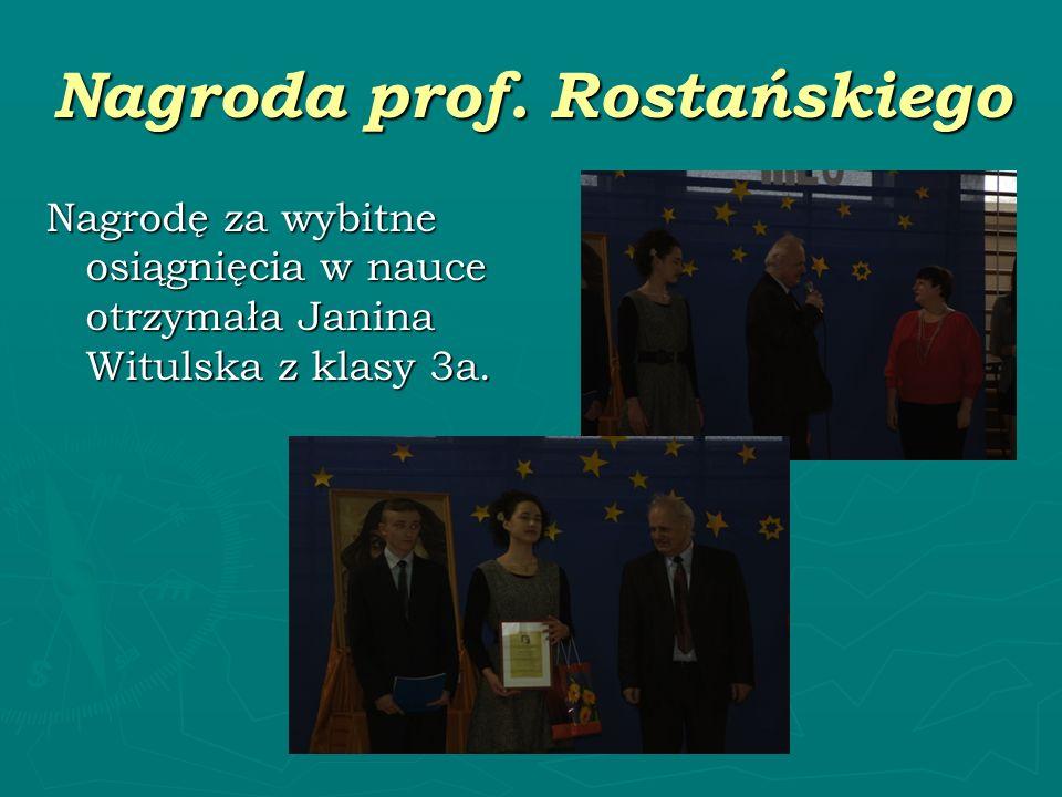 Nagroda prof. Rostańskiego