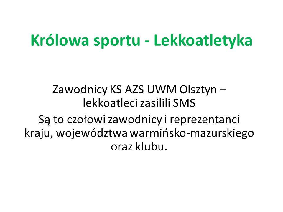 Królowa sportu - Lekkoatletyka