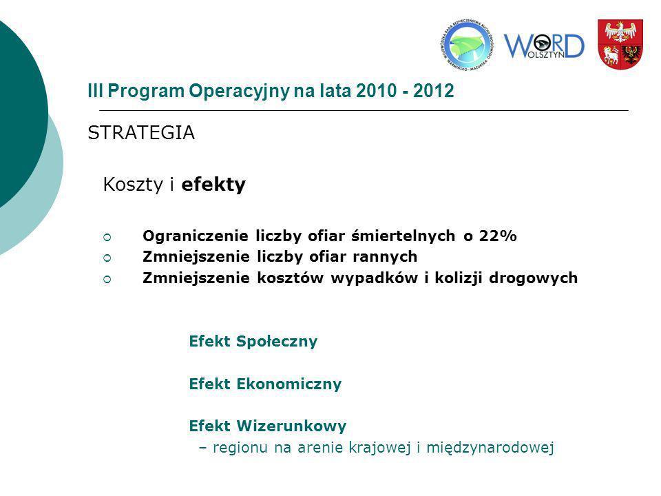 III Program Operacyjny na lata 2010 - 2012