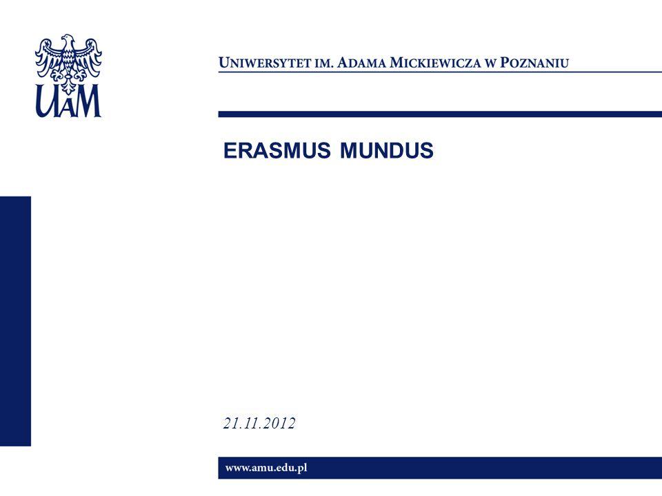 ERASMUS MUNDUS 21.11.2012