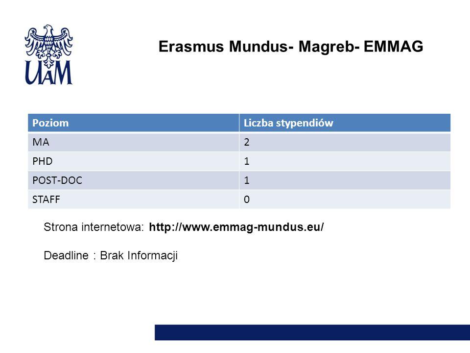 Erasmus Mundus- Magreb- EMMAG