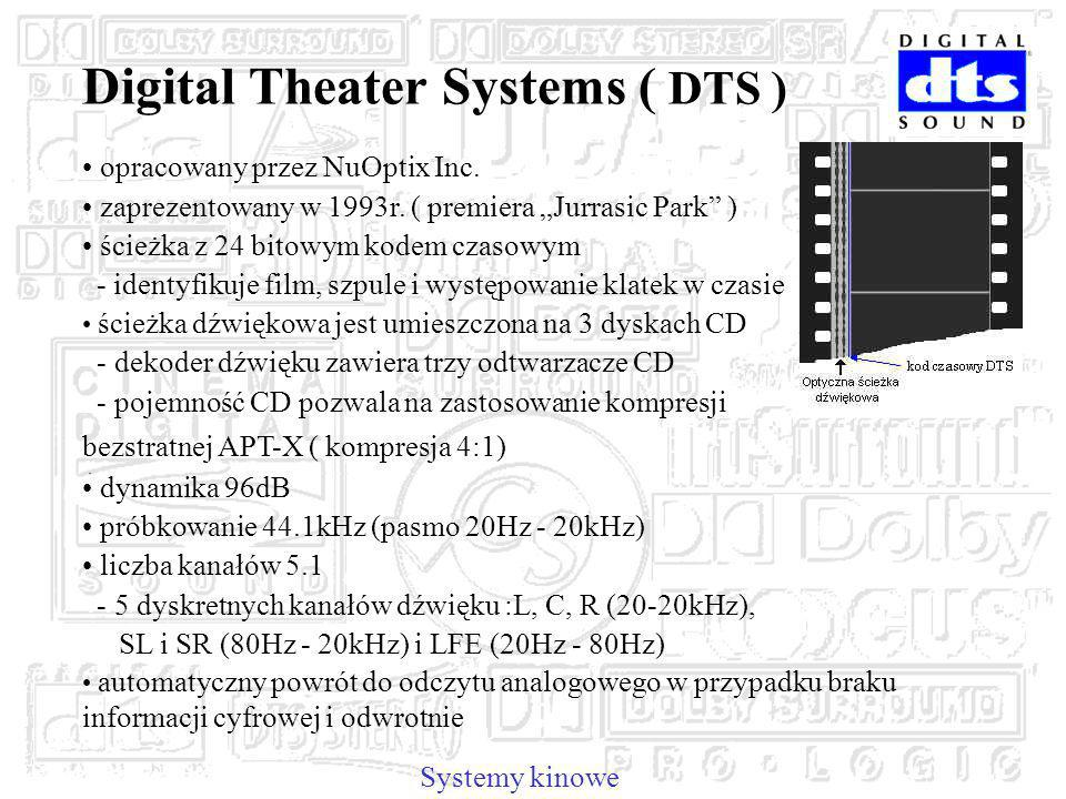Digital Theater Systems ( DTS )