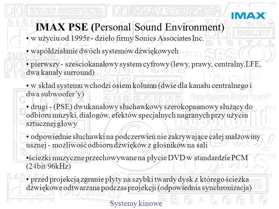 IMAX PSE (Personal Sound Environment)