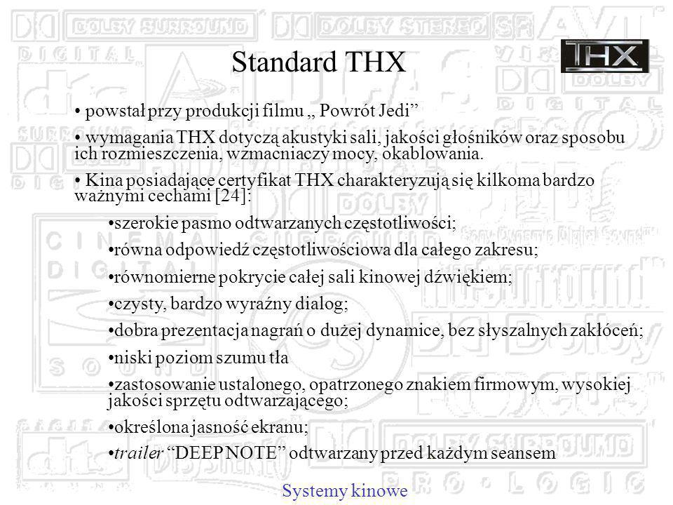 """Standard THX powstał przy produkcji filmu """" Powrót Jedi"""