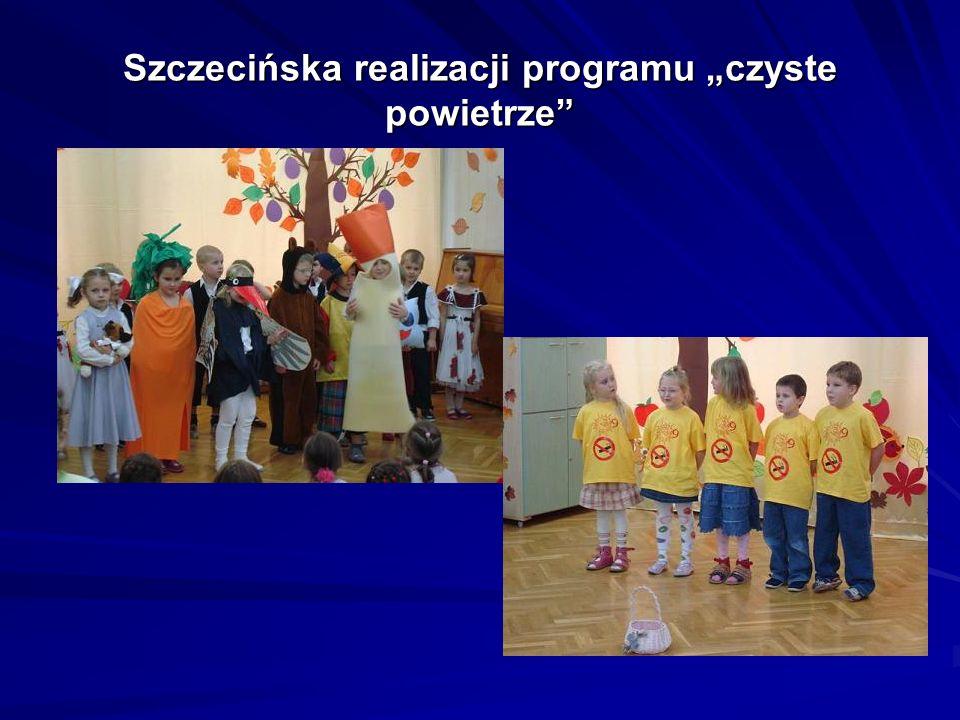 """Szczecińska realizacji programu """"czyste powietrze"""