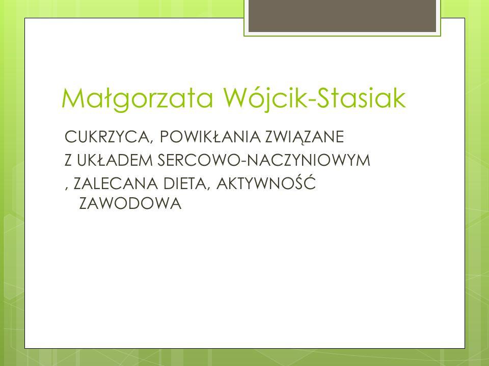 Małgorzata Wójcik-Stasiak