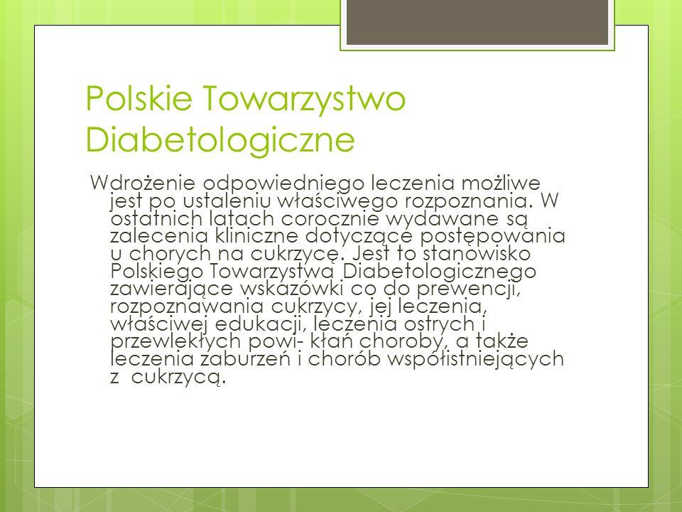 Polskie Towarzystwo Diabetologiczne