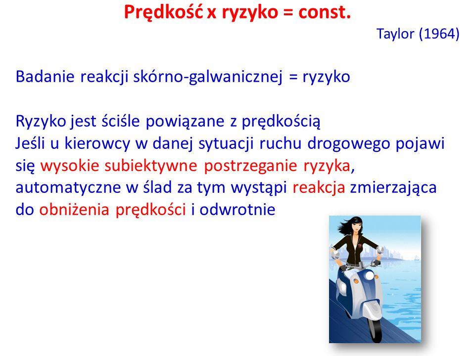 Prędkość x ryzyko = const.