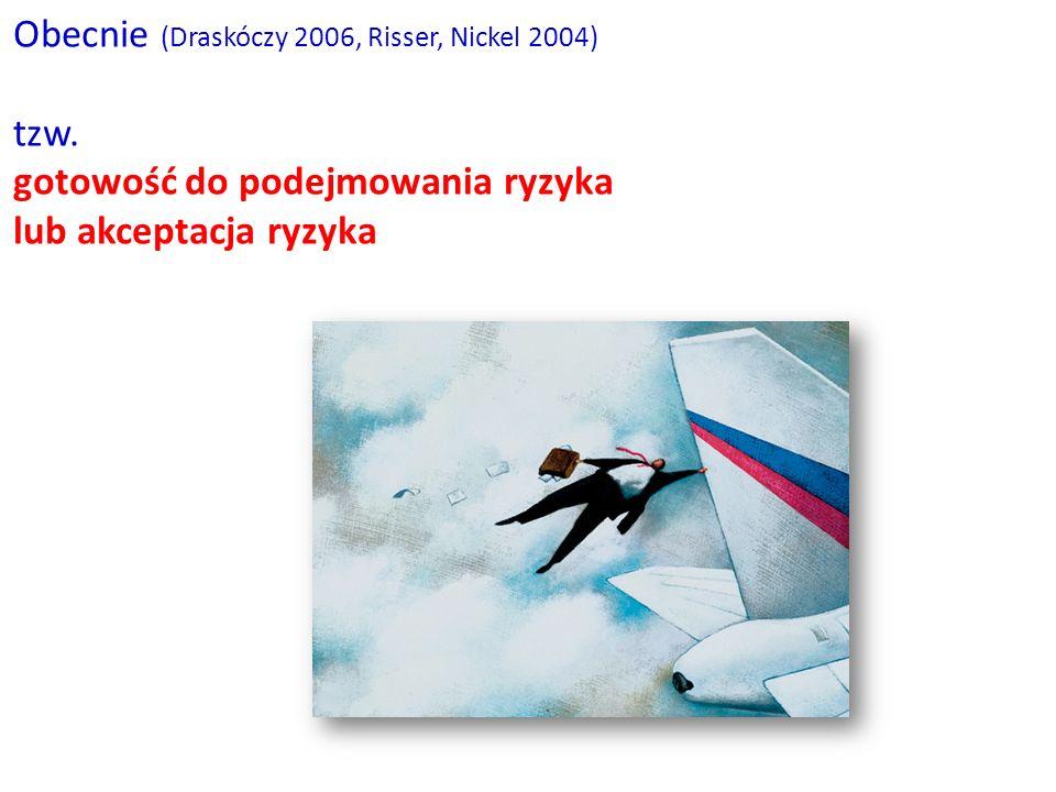 Obecnie (Draskóczy 2006, Risser, Nickel 2004)