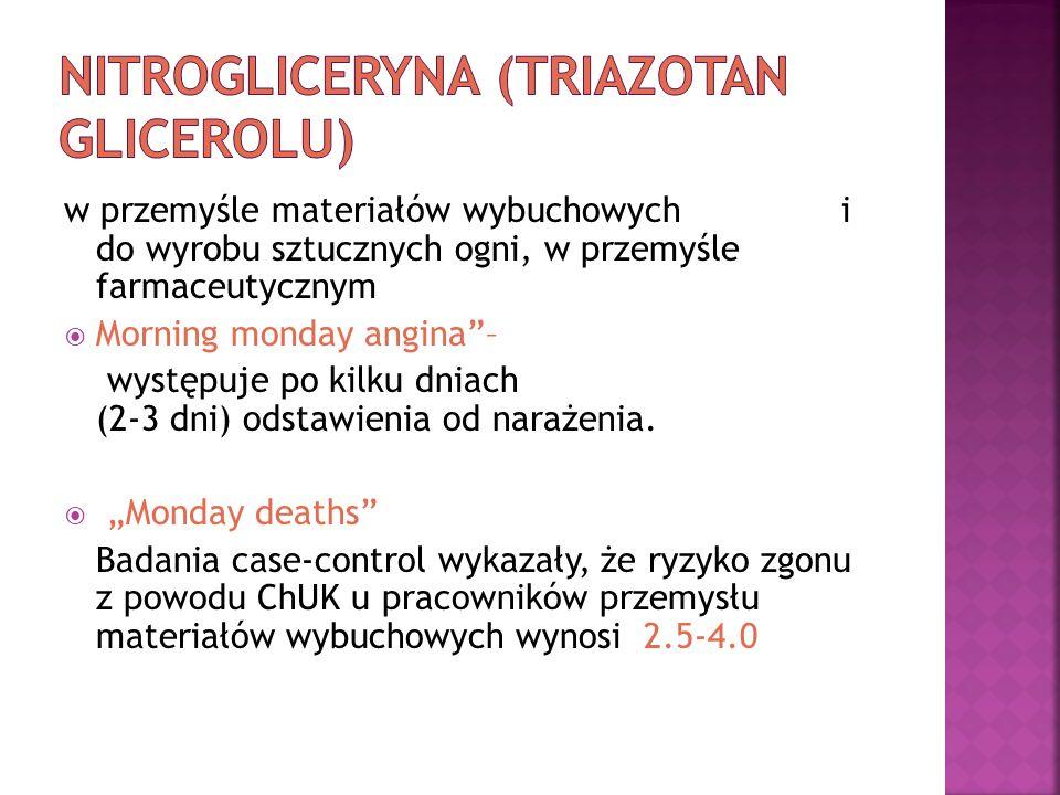 Nitrogliceryna (triazotan glicerolu)