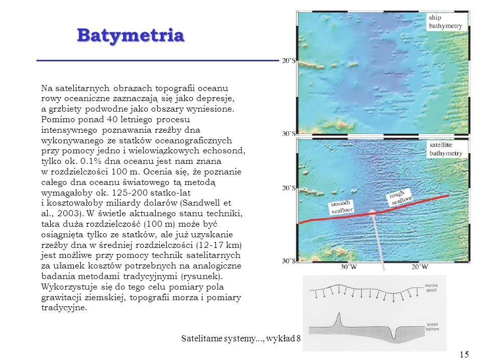Satelitarne systemy..., wykład 8