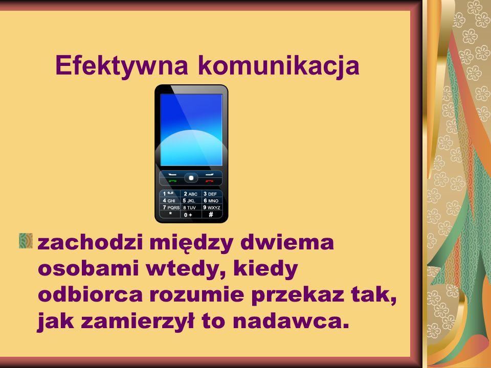 Efektywna komunikacja