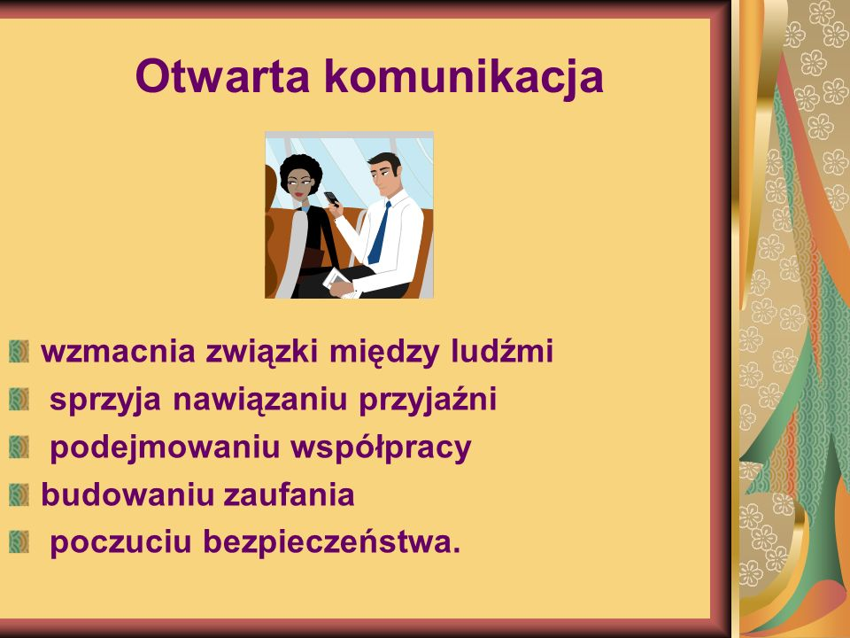 Otwarta komunikacja wzmacnia związki między ludźmi