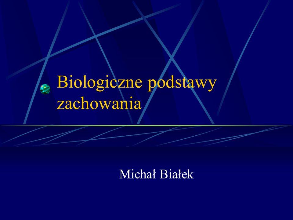 Biologiczne podstawy zachowania