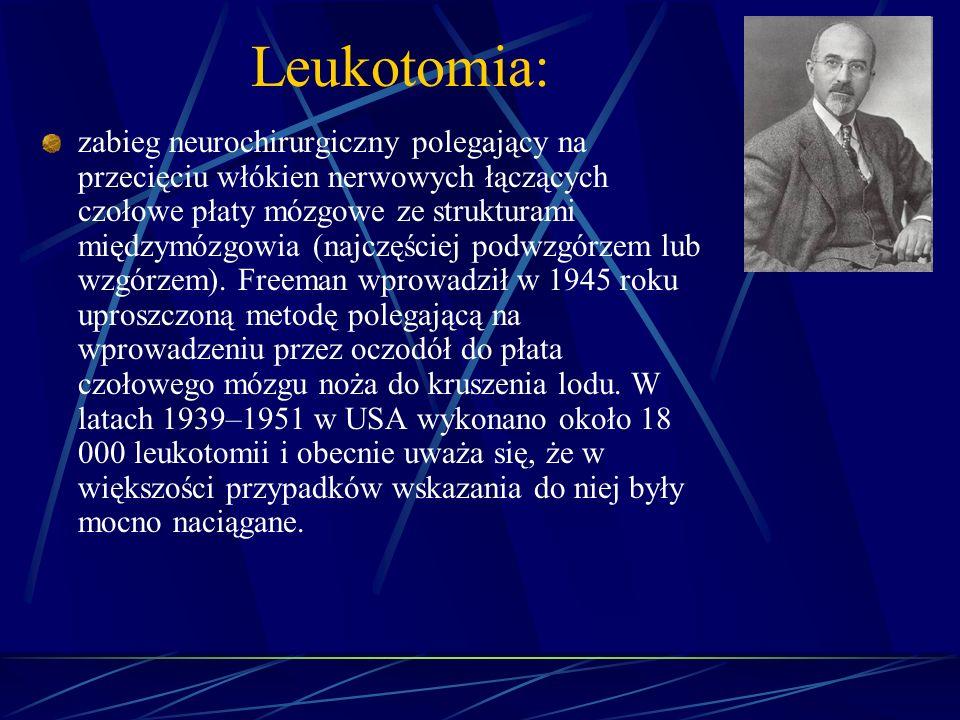 Leukotomia: