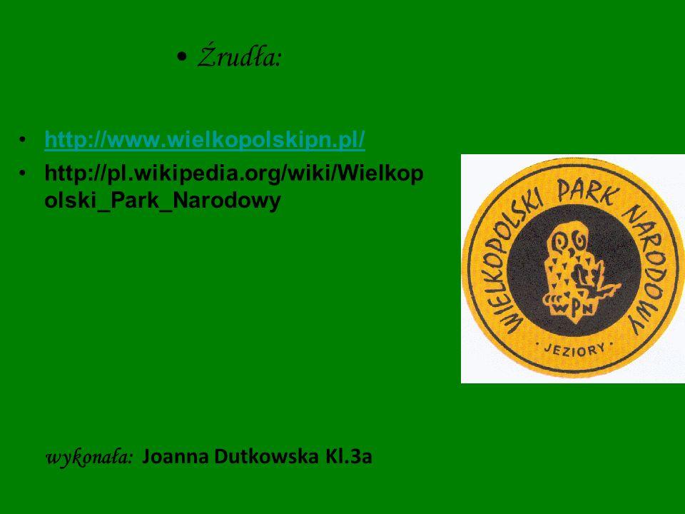 Źrudła: http://www.wielkopolskipn.pl/