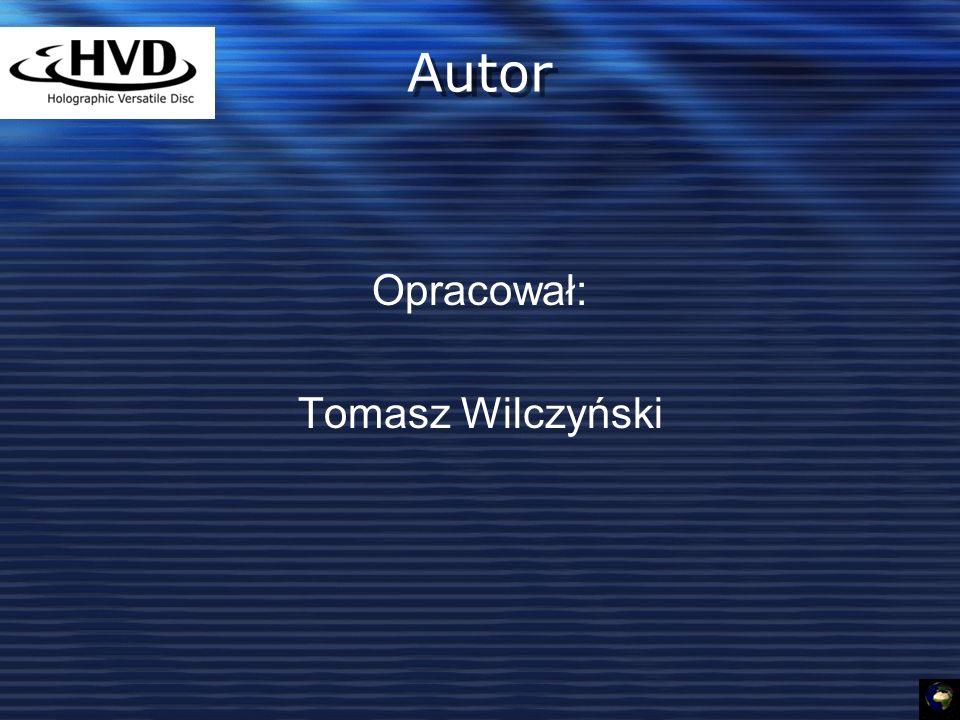 Opracował: Tomasz Wilczyński